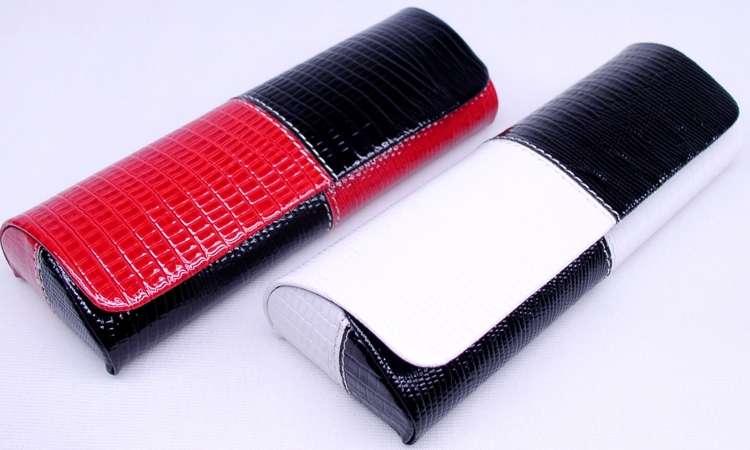 Moderní kabelkové pouzdro na brýle