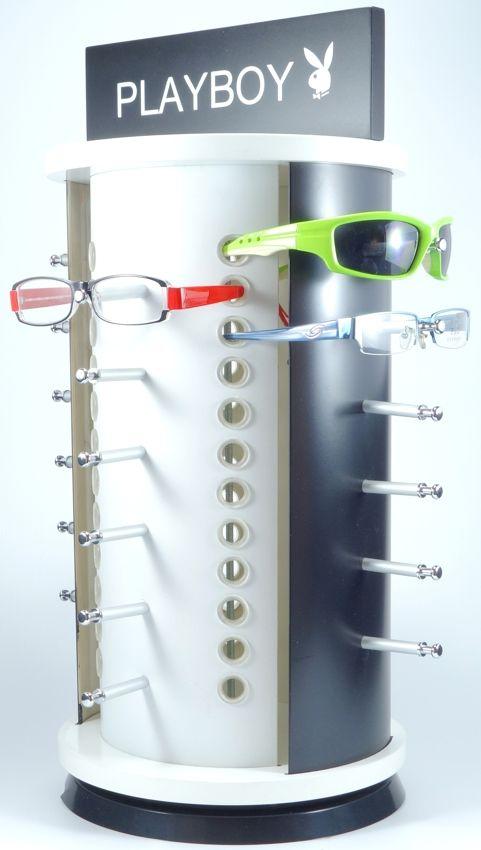 Otočný stojan na 24 kusů brýlí-DOPRODEJ