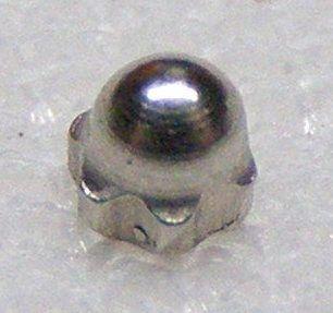 Kovové čepičky - matičky (matka s krytkou) 1,3 mm - (50 ks)