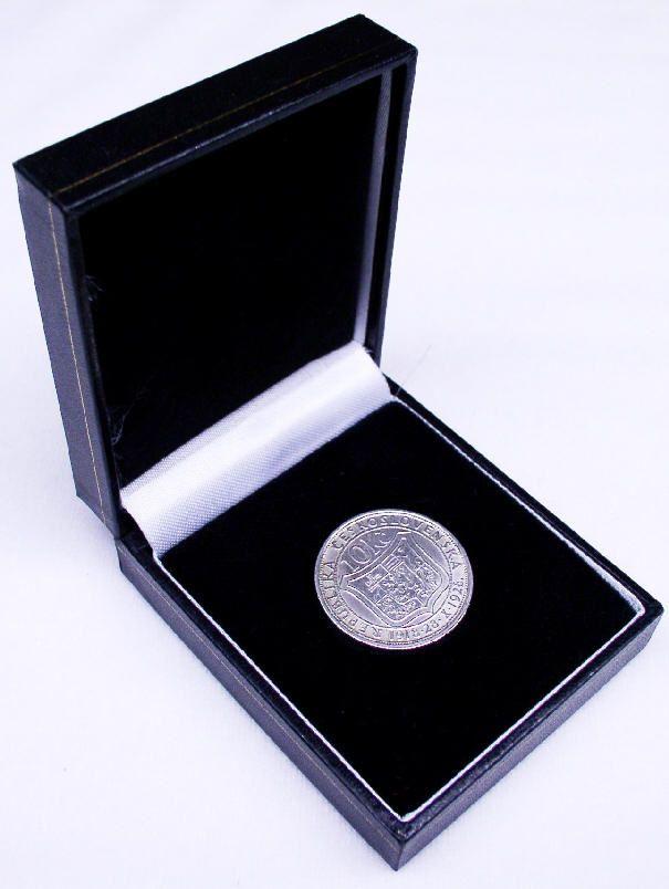 Krabička na medaili nebo minci - FASTRACK PENDANT-MAX. PRŮMĚR MINCE/MEDAILE 50MM