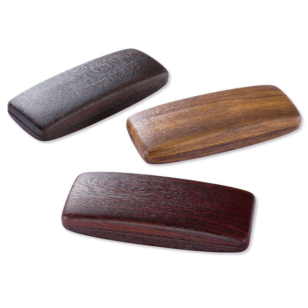 Brýlové pouzdro potažené koženkou - BALENÍ 3 KS MIX