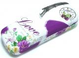 """Stylové brýlové pouzdo """"LOVE"""""""