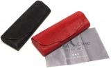 Menší luxusní pouzdro z pravé kůže vč. mikroutěráku a dárkové krabičky