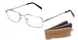 Čtecí brýle - barva stříbrná včetně pouzdra