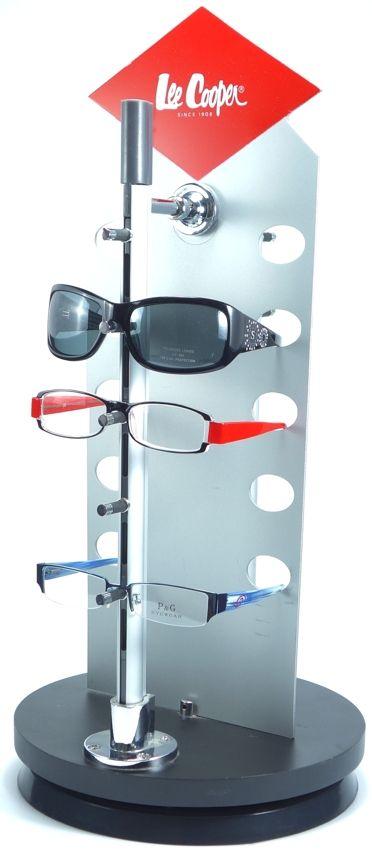 Exclusivní otočný stojan na 10 kusů brýlí-DOPRODEJ