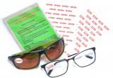 Statické samolepící štítky na brýlové čočky - 117 ks